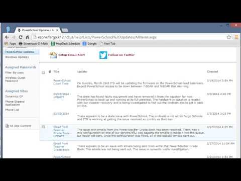 ALL - Stay Up to Date on PowerSchool Updates