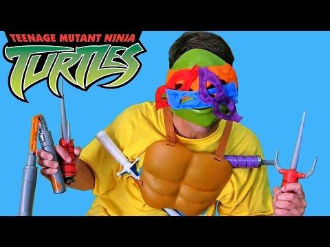 Rapha-Tello-Leo-Angelo Ninja Turtle ! || Toy Reviews  || Konas2002