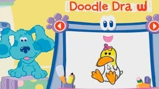 BLUE'S CLUES - Doodle, Doodle, Guess and Draw - New Blue's Clues Game - Online Game HD - Gameplay