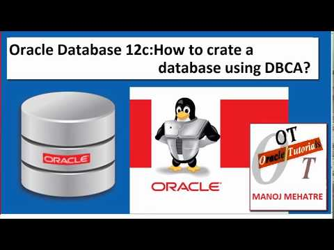 Oracle Database 12c:How to create a database using DBCA?