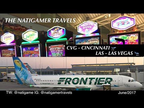 Frontier Airlines: CVG / Cincinnati - LAS / Las Vegas A320neo