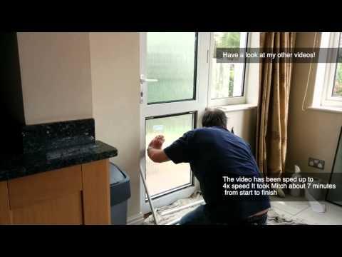 Fixing Double Glazing Broken Door Window
