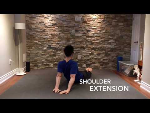 Supine Shoulder Extension Exercise