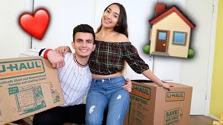 WE'RE MOVING IN TOGETHER!!