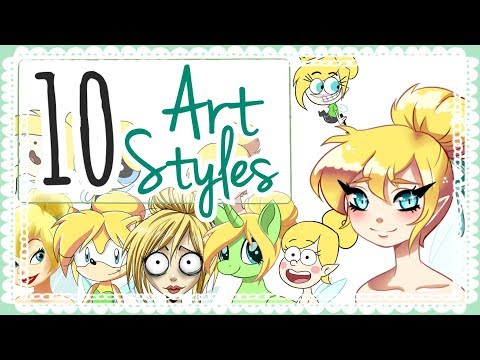 ☆ 10 ART STYLE CHALLENGE    Thank you for 10k! ☆