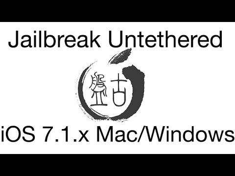 Jailbreak Untethered iOS 7.1.2 en Español Mac y Windows