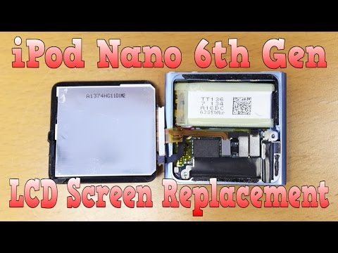 How to replace iPod Nano 6th Generation Screen