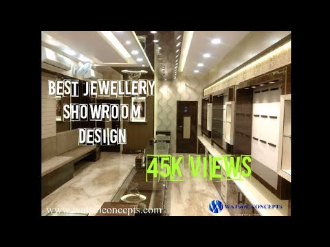 Watsol Concepts Jewellery showroom designs