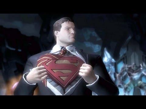 Injustice Gods Among Us : Superman VS Sinestro !