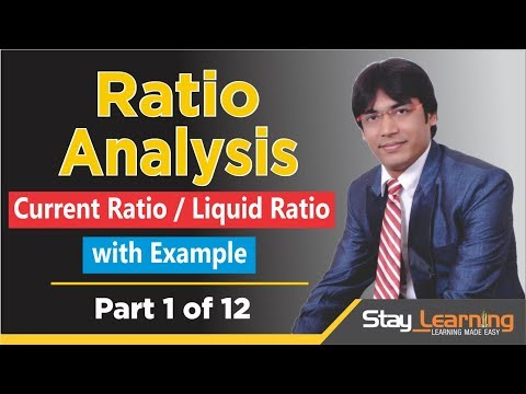 Ratio Analysis – Part 1 of 12 by Vijay Adarsh | StayLearning |(HINDI | हिंदी)