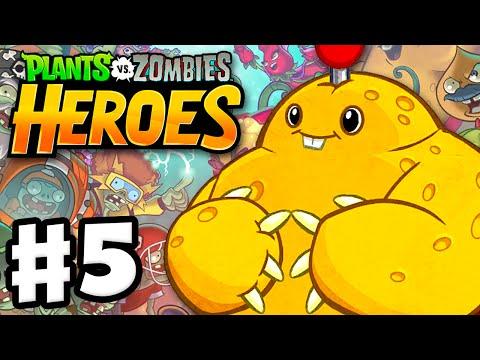 Plants vs. Zombies: Heroes - Gameplay Walkthrough Part 5 - Spudow Hero! (iOS, Android)