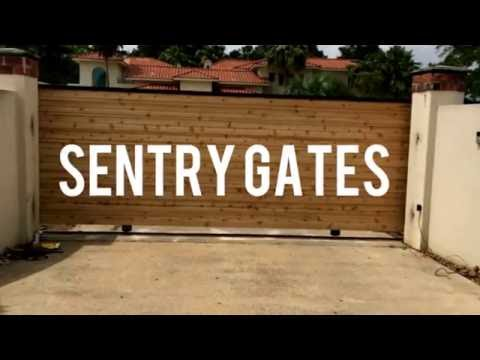 Houston Gate Repair Company   Sentry Houston Gate Repair