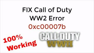 FIX Call of Duty WW2 msvcp120 dll Missing 100% Working UPDATED