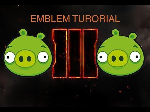 Black Ops 3 Angry Bird Pig Emblem