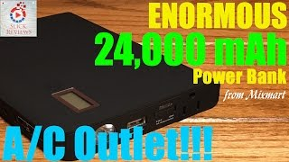30 days of charging power?! 24,000 mAh power bank from MixMart