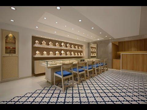 Shop design - The Design Walk - Dipen Gada & Associates - S.Kanjibhai Jewellers