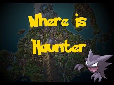 Where Is: Haunter (Trade Pokemon) (Pokemon Diamond/Pearl/Platinum)