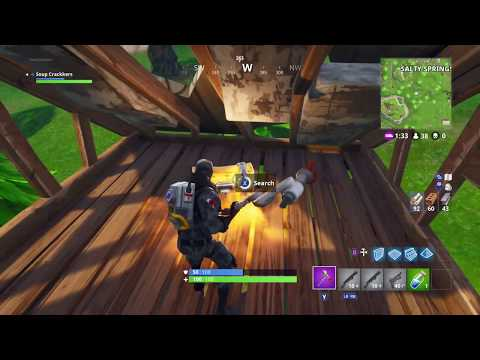 Fortnite Find Chest Sound + Build Stairs