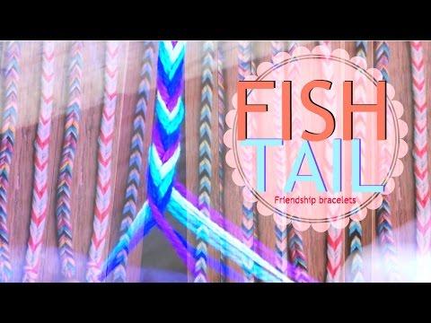 DIY Friendship Bracelets - PULSERAS FISHTAIL *Daans97