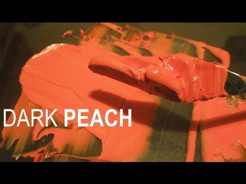 Mixing DARK PEACH oil color