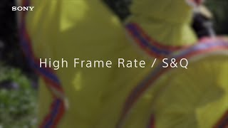 Sony | PXW-Z90 & HXR-NX80 | HDR(HLG) sample footage #4 - Slow and Quick Motion