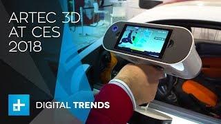 Artec3D Scanner at CES 2018