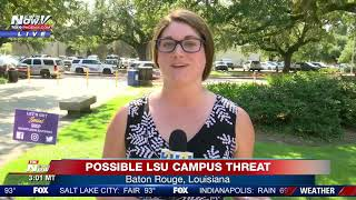 LSU ALERT: Possible campus threat reported in Baton Rouge, Louisiana
