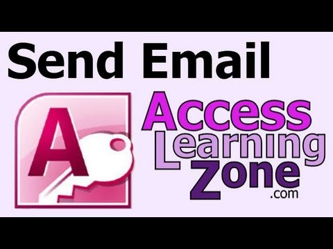 Send Email from Microsoft Access using Outlook