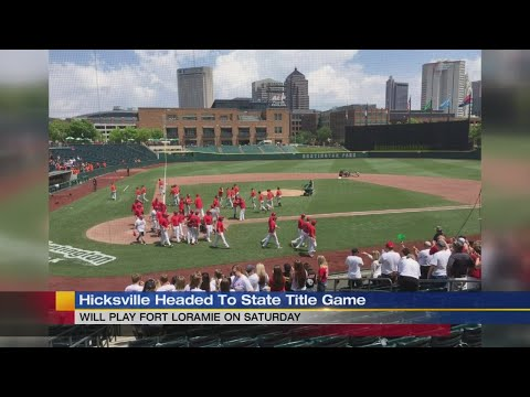 Hicksville baseball headed to state title game