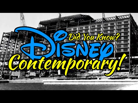 The History of the Contemporary Resort!