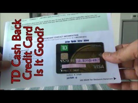 Honest & Non-Affiliated   TD Cash Back Visa Infinite Credit Card Unboxing & Review