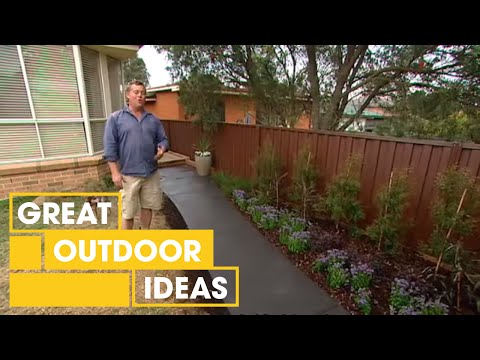How To Lay A Concrete Path | Outdoor | Great Home Ideas