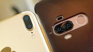 Huawei Mate 9 vs iPhone 7 Plus: Big Phones Dual Cameras (pt.1)