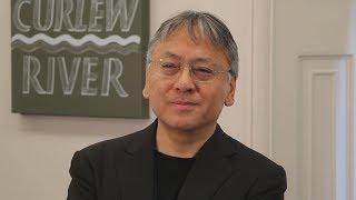 「日本に感謝」とイシグロ氏 ノーベル文学賞受賞で会見