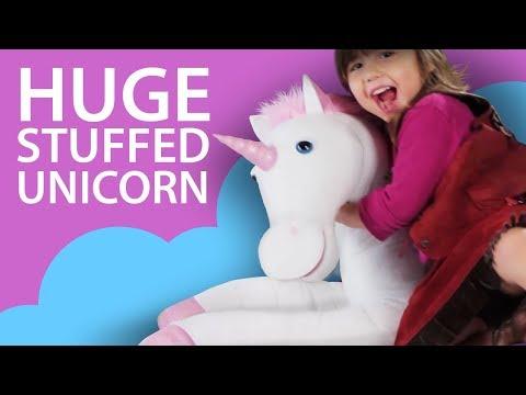 Waliki: Huge Stuffed Plush Unicorn HD