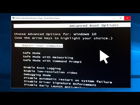 Start Windows 10 in Safe Mode With F8│How-To