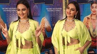Sonakshi Sinha FLAUNTS Her Abs At Khandani Shafakhana Movie Promotions