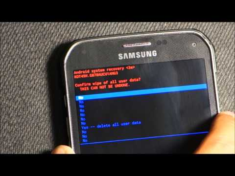 Samsung Galaxy S5 Active Recovery mode   Hard Reset   Factory Setting   Original Setting
