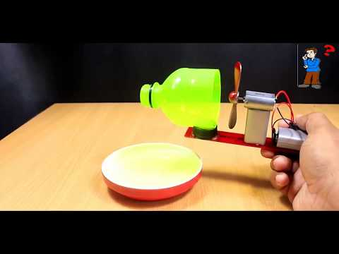 How to make Bubble Machine |with motor|