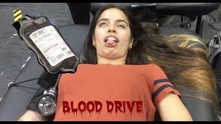 School Blood Drive   Vlog