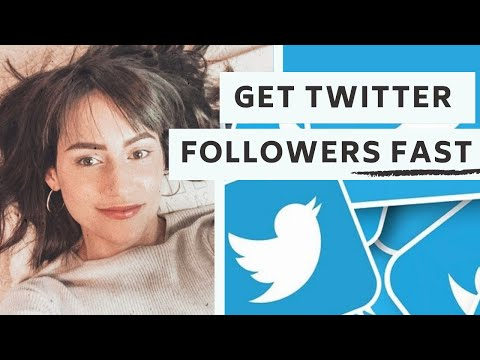 How To Get Twitter Followers FAST!