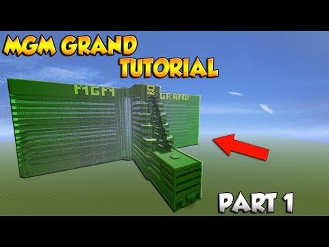 Minecraft MGM Grand Hotel Tutorial Part 1