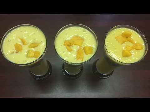 Mango Milk Shake | TWO WAYS of making Mango milk shake