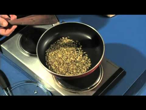 Toasting Pumpkin Seeds - simple, quick, easy kitchen basic Toasting pumpkin Seeds