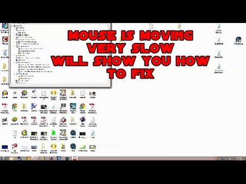 HOW TO FIX IF MOUSE IS MOVING SLOW