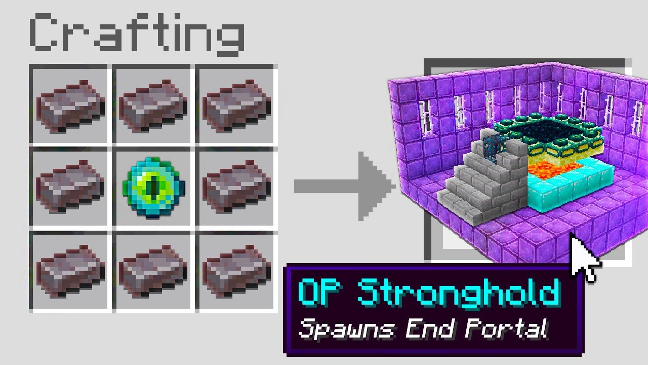 Minecraft, But You Can Craft OP Structures...