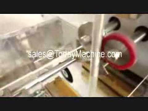 plastic film roll forming packing bag machine