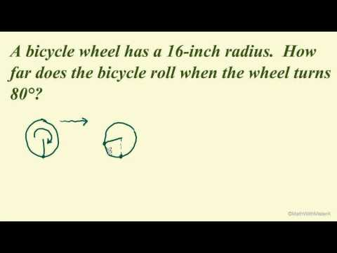 Arc Length and Angular Speed - Part 5 (Linear Speed Example)