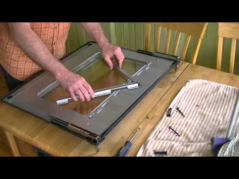DIY: Samsung Range: how to clean the oven door's interior glass