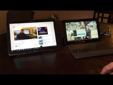How to use your Android tablet as a second display via USB